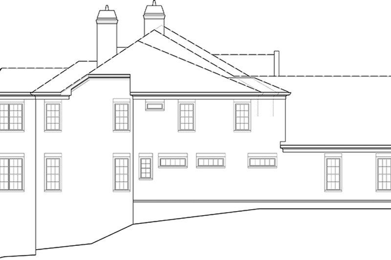 European Exterior - Other Elevation Plan #119-423 - Houseplans.com