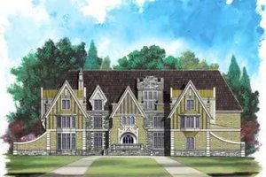 House Design - European Exterior - Front Elevation Plan #119-219