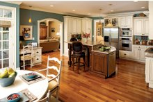 Country Interior - Kitchen Plan #929-13