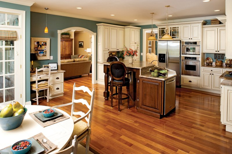 Country Interior - Kitchen Plan #929-13 - Houseplans.com