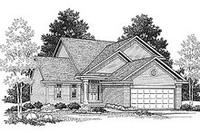 Traditional Exterior - Front Elevation Plan #70-124
