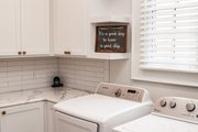 European Style House Plan - 3 Beds 2 Baths 2854 Sq/Ft Plan #430-192 Interior - Laundry