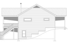 Cabin Exterior - Other Elevation Plan #932-57