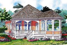 House Plan Design - Country Exterior - Rear Elevation Plan #930-77