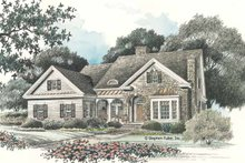 Dream House Plan - Country Exterior - Front Elevation Plan #429-95
