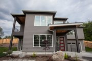 Contemporary Style House Plan - 4 Beds 3 Baths 3111 Sq/Ft Plan #1066-8 Exterior - Front Elevation