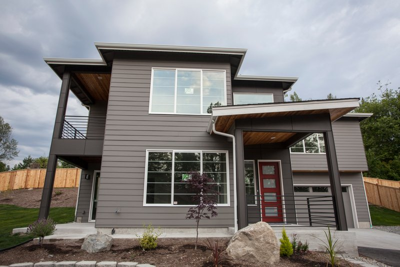 House Plan Design - Contemporary Exterior - Front Elevation Plan #1066-8