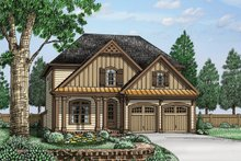 House Plan Design - Traditional Exterior - Front Elevation Plan #927-962
