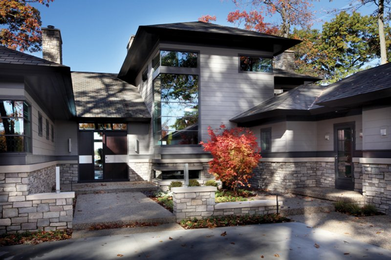 Architectural House Design - Contemporary Exterior - Front Elevation Plan #928-261