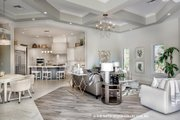 Mediterranean Style House Plan - 4 Beds 4.5 Baths 4030 Sq/Ft Plan #930-473 Interior - Other