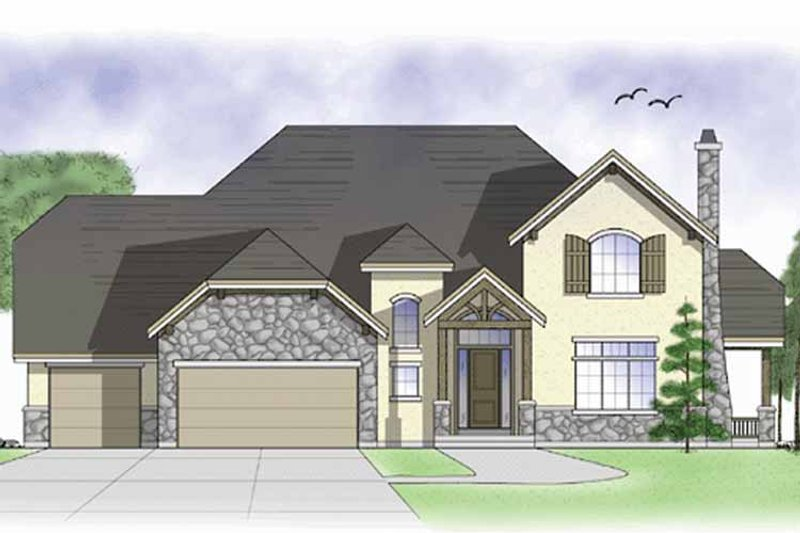 Country Exterior - Front Elevation Plan #945-41 - Houseplans.com