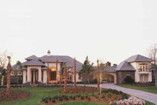 Home Plan - Mediterranean Exterior - Front Elevation Plan #930-316