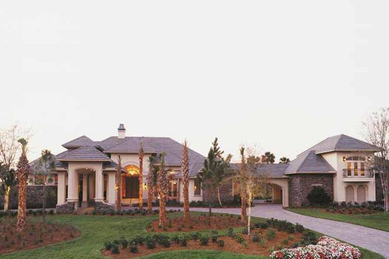 House Plan Design - Mediterranean Exterior - Front Elevation Plan #930-316
