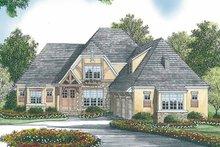 Tudor Exterior - Front Elevation Plan #453-447