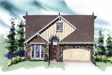 Traditional Exterior - Front Elevation Plan #509-260