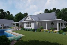 Architectural House Design - Farmhouse Exterior - Rear Elevation Plan #120-254