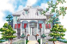 Classical Exterior - Front Elevation Plan #930-71