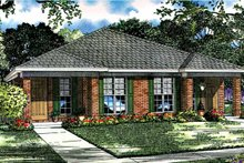 Ranch Exterior - Front Elevation Plan #17-2980