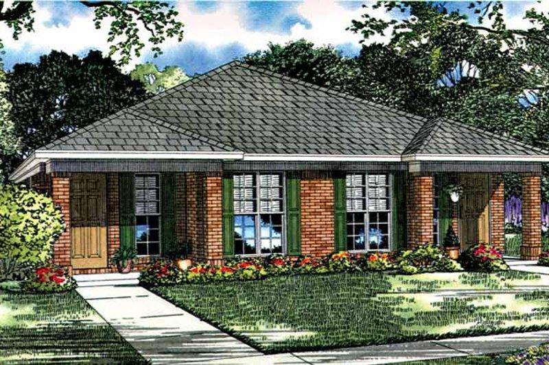 Ranch Exterior - Front Elevation Plan #17-2980 - Houseplans.com