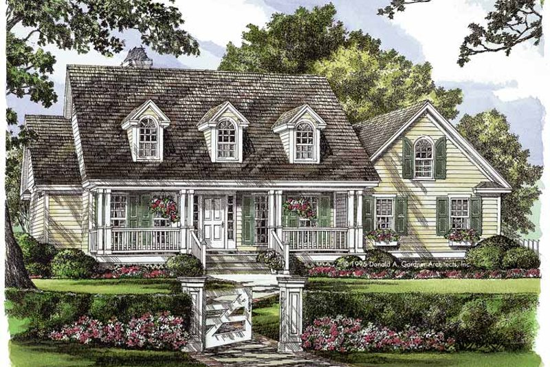 Country Exterior - Front Elevation Plan #929-225 - Houseplans.com