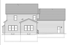 Country Exterior - Rear Elevation Plan #1010-124