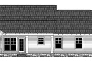 Craftsman Style House Plan - 3 Beds 2.5 Baths 2001 Sq/Ft Plan #21-432 Exterior - Rear Elevation