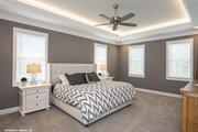 Craftsman Style House Plan - 4 Beds 3.5 Baths 3102 Sq/Ft Plan #929-60 Interior - Master Bedroom
