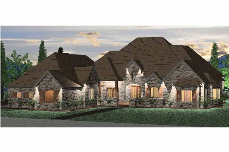 House Plan Design - Country Exterior - Front Elevation Plan #937-7