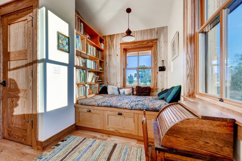 Prairie Interior - Bedroom Plan #1042-18 - Houseplans.com