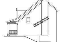 Classical Exterior - Other Elevation Plan #927-795