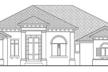 Architectural House Design - Mediterranean Exterior - Front Elevation Plan #930-443
