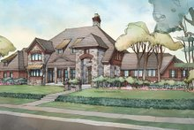 Country Exterior - Front Elevation Plan #928-265