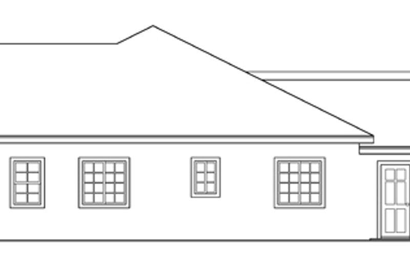 Mediterranean Exterior - Other Elevation Plan #124-432 - Houseplans.com