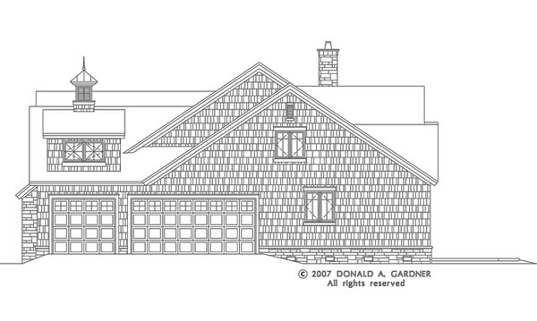 European Floor Plan - Other Floor Plan Plan #929-830
