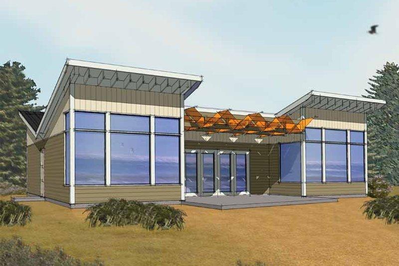 Dream House Plan - Exterior - Front Elevation Plan #569-3