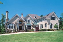 Architectural House Design - Traditional Exterior - Front Elevation Plan #54-182