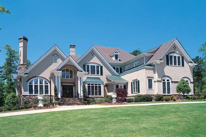 House Plan Design - Traditional Exterior - Front Elevation Plan #54-182