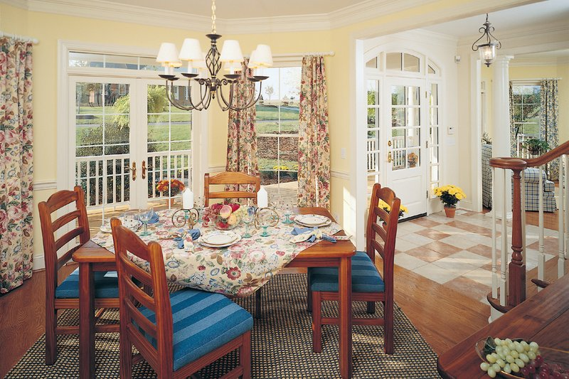 Farmhouse Interior - Dining Room Plan #929-16 - Houseplans.com