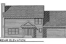 Traditional Exterior - Rear Elevation Plan #70-308