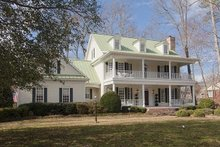 Dream House Plan - Southern Exterior - Other Elevation Plan #137-107