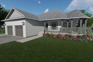 Craftsman Exterior - Front Elevation Plan #126-224