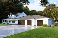 Home Plan - Farmhouse Exterior - Front Elevation Plan #923-105