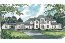 Dream House Plan - European Exterior - Other Elevation Plan #453-46