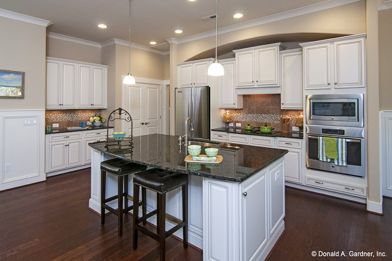 European Interior - Kitchen Plan #929-958 - Houseplans.com