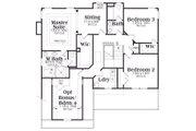 Craftsman Style House Plan - 3 Beds 2.5 Baths 2465 Sq/Ft Plan #419-168 Floor Plan - Upper Floor Plan