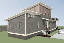 Home Plan - Modern Exterior - Rear Elevation Plan #79-322