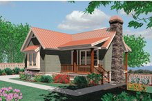 Dream House Plan - Farmhouse Exterior - Front Elevation Plan #48-276