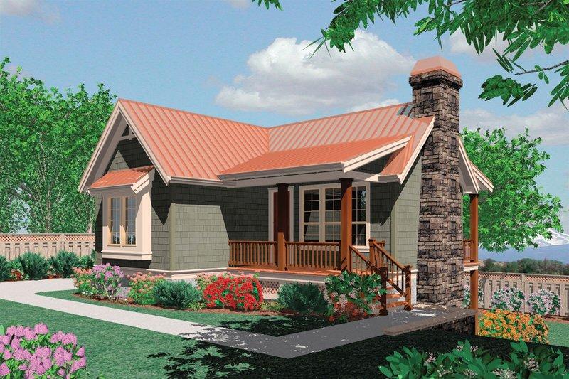Farmhouse Exterior - Front Elevation Plan #48-276