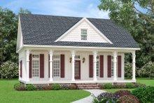 Architectural House Design - Cottage Exterior - Front Elevation Plan #45-595