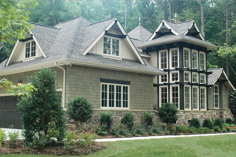 Dream House Plan - Craftsman Exterior - Front Elevation Plan #413-130